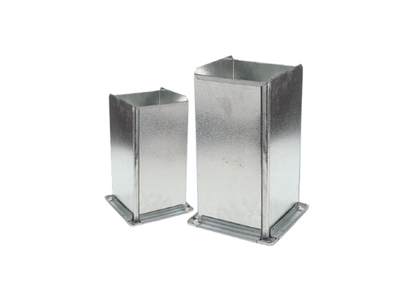 Galvanised Straight Ducts