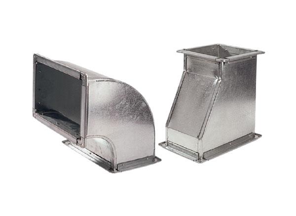 Rectangular Duct System Leminar Air Conditioning