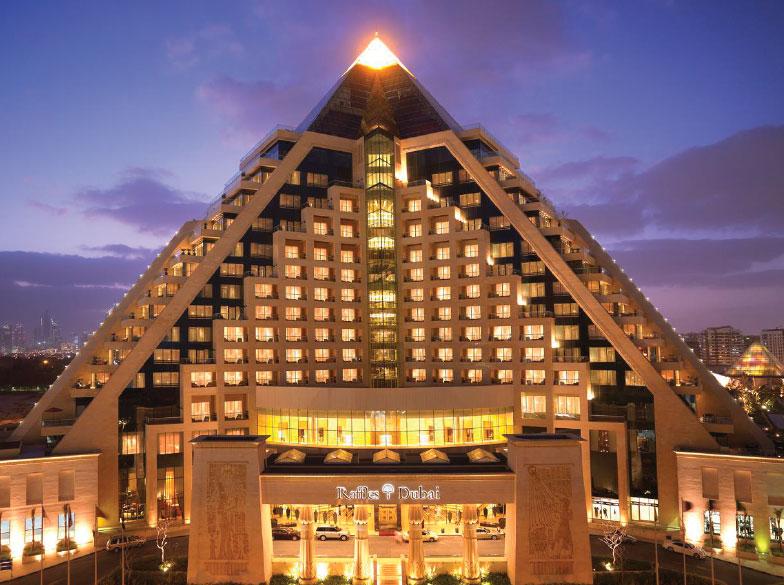 Raffles Hotel at Wafi Mall, Dubai, UAE