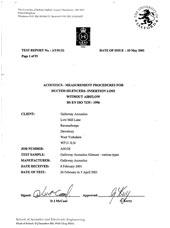 UKAS Test Report
