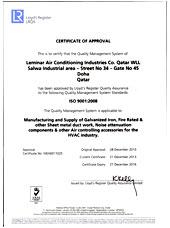 ISO Certificate Qatar