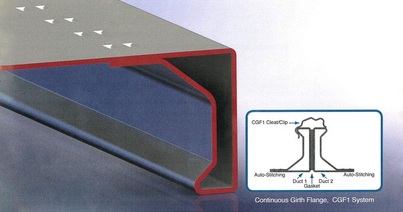 CGF-1 Integral Flange System
