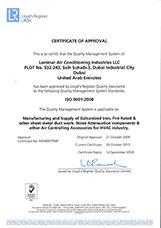 ISO Certificate Dubai